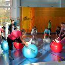 Koordinační a regenerační cvičení - gymbally
