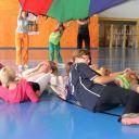 Koordinační a regenerační cvičení - padák